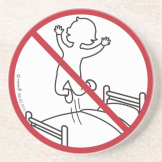 No Jumping on the Bed! Drink Coasters