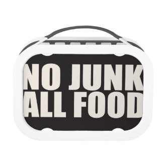 NO JUNK ALL FOOD Lunch Box