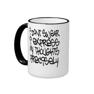 No juro tazas de café