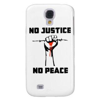 No Justice No Peace Galaxy S4 Cover