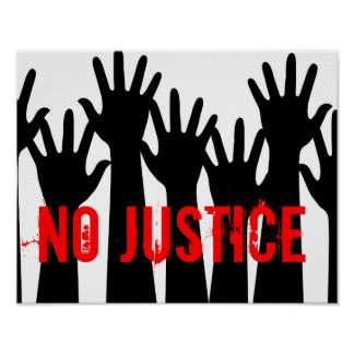 No Justice Poster