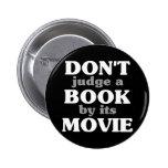 No juzgue un libro por su película pins