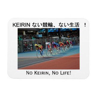 No Keirin, No Life! Fridge Magnet