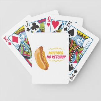 No Ketchup Bicycle Playing Cards