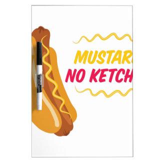 No Ketchup Dry-Erase Board