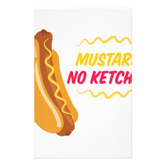 No Ketchup Stationery