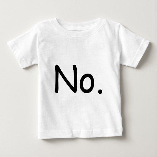 No. kid shirt