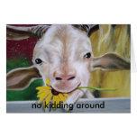 NO KIDDING AROUND-BE MY VALENTINE CARD