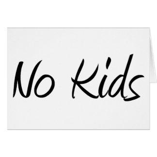 No Kids #1 Card