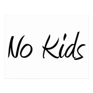 No Kids #1 Postcard