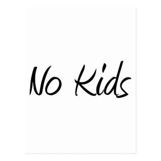 No Kids #1 Post Card