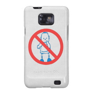 No Kids Allowed Galaxy S2 Cover
