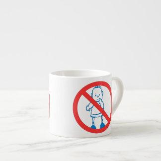 No Kids Allowed Espresso Cup