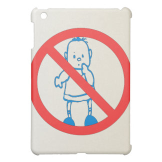 No Kids Allowed Case For The iPad Mini
