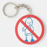No Kids Allowed Key Chains