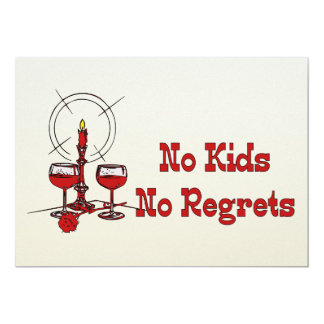 No Kids No Regrets Invite