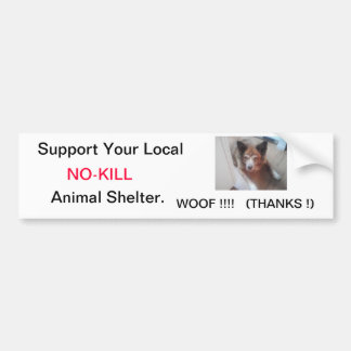 NO-KILL Bumper Sticker