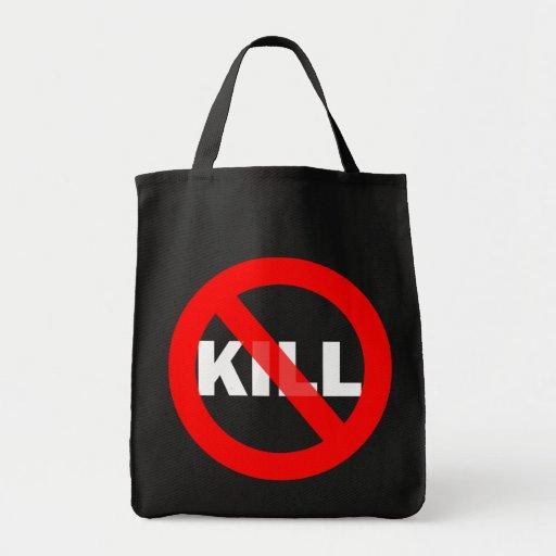 No-Kill Tote dark colors Tote Bag