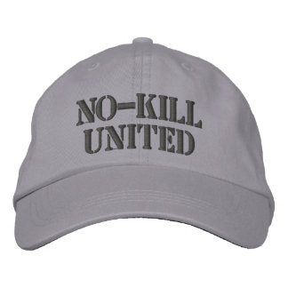 NO-KILL UNITED : HAT-DCH EMBROIDERED BASEBALL HAT