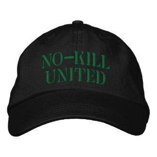 NO-KILL UNITED : HAT-FG EMBROIDERED BASEBALL HAT