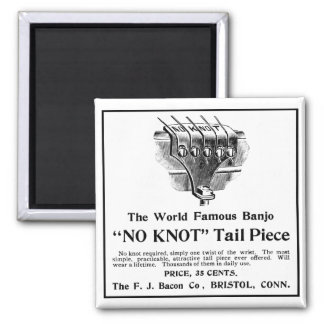 No Knot Ad Magnet