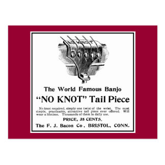 No Knot Ad Postcard