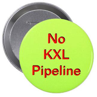 No KXL Pipeline Pinback Buttons