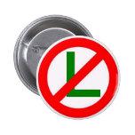 """No L"" (Noel) Pinback Buttons"