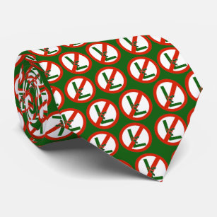 Christmas Tie.No L Noel Ugly Christmas Tie