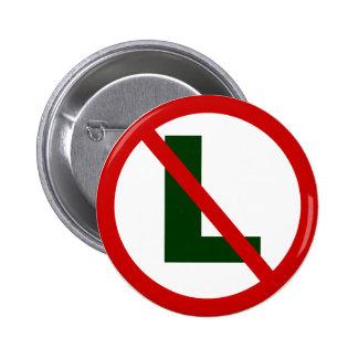 no L Pinback Button