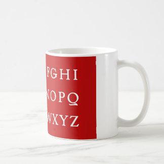 No L Red for Christmas Mug