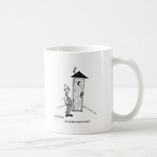 No la llave a perder taza de café