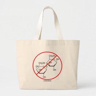 No Lactose (Lactose Intolerance) Large Tote Bag