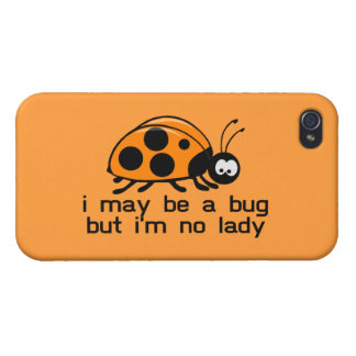 No Lady Bug iPhone 4/4S Case