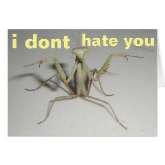 no le odio tarjetas