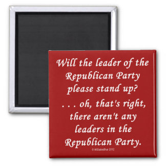 No Leaders In The GOP Magnet