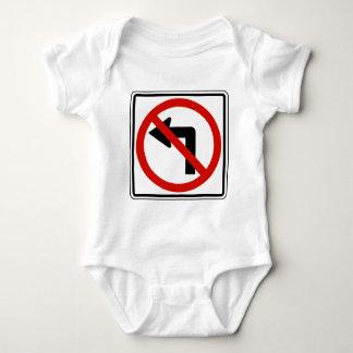 No Left Baby Bodysuit