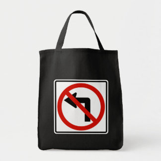 No Left Tote Bags