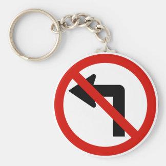 No Left Keychain