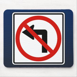 No Left Mouse Pad