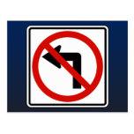No Left Postcard