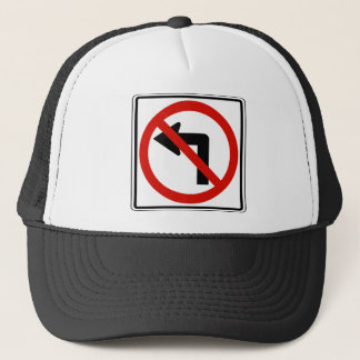 No Left Trucker Hat