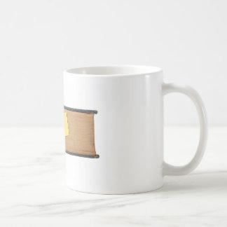 No leyó demasiado de largo taza de café