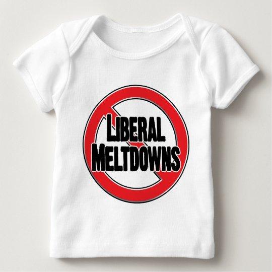 No Liberal Meltdowns Baby T-Shirt