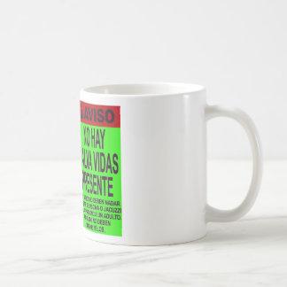 NO LIFE GUARD ON DUTY COFFEE MUG