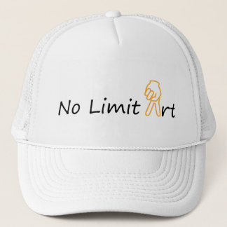 NO LIMIT ART & sign PEACE - FREEDOM - LIBERTY Trucker Hat