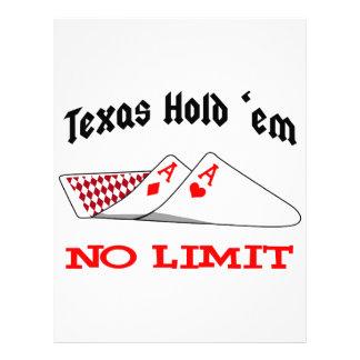 No Limit Poker Letterhead