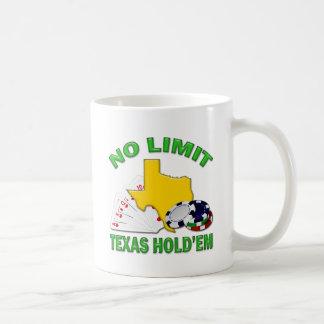 NO LIMIT TEXAS HOLD'EM COFFEE MUG