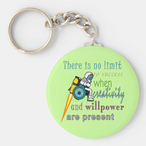 No Limit To Success Keychains