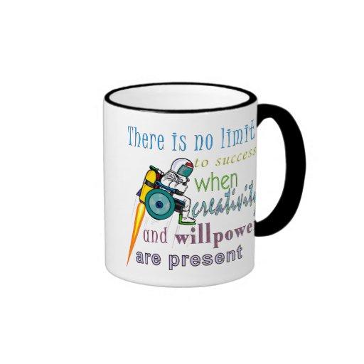 No Limit To Success Ringer Coffee Mug